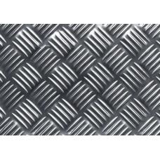 Алюминиевый лист рифленый квинтет <br> 3,0 (1,5х3,0) 1050 А Н244 00176 1