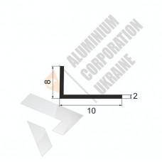 Уголок алюминиевый <br> 10х8х2 - АН 00544 1