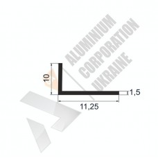Уголок алюминиевый <br> 11,25х10х1,5 - АН АК-5616-6 1