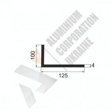Уголок алюминиевый <br> 125х100х4 - АН АК-5692-875 1