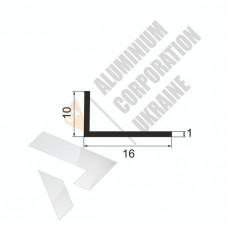 Уголок алюминиевый <br> 16х10х1 - АН АК-5617-28 1
