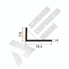 Уголок алюминиевый <br> 18,4х7,5х4 - АН ПО-213-36 1