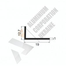 Уголок алюминиевый <br> 19х12,7х1 - АН АК-5619-38 1