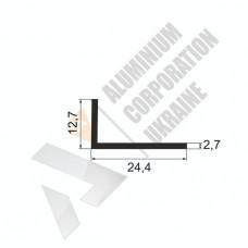 Уголок алюминиевый <br> 24,4х12,7х2,7 - АН АК-5636-110 1