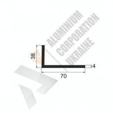 Уголок алюминиевый <br> 70х38х4 - АН АК-5678-687 1