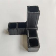 Соединитель «розетка» для квадратной трубы 30 х 30 х 2мм 55555 1