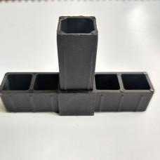 Соединитель для квадратной трубы 30 х 30 х 2мм Т-образный 77777 1