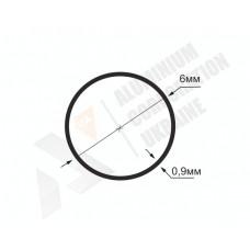 Алюминиевая труба круглая 6х0,9- БП 00999 1