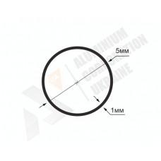 Алюминиевая труба круглая <br> 5х1 - БП 01-0001 1