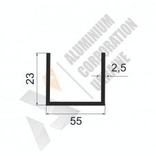 П-образный профиль 55х23х2.5 274 1