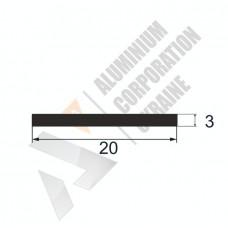 Алюминиевая полоса <br> 20х3 - АН 00475 1