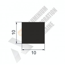 Алюминиевая полоса 10х10 - АН 00229 1