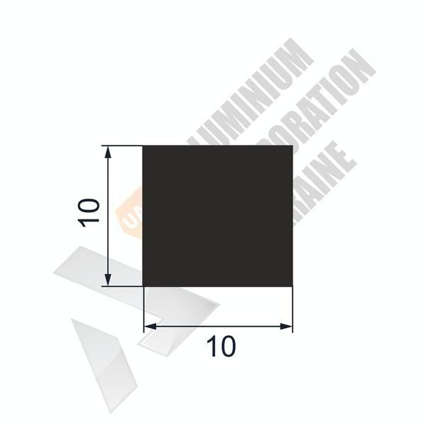 Алюминиевая полоса | 10х10 - БП 00217
