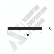 Алюминиевая полоса 100х6 - БН 0204 1