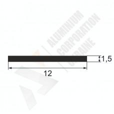Алюминиевая полоса 12х1,5 28 1