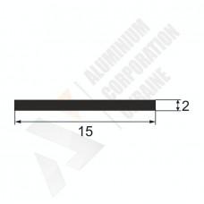Алюминиевая полоса <br> 15х2 - БП 25-0048 1