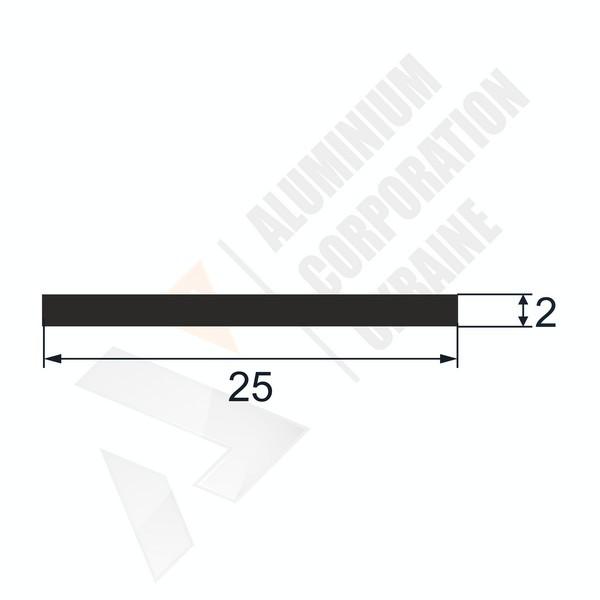 Алюминиевая полоса 25х2 - БП 00379