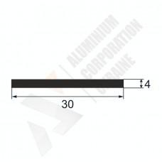 Алюминиевая полоса 30х4 127 1
