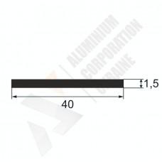Алюминиевая полоса <br> 40х1,5 - АН 00303 1