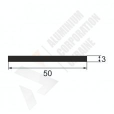 Алюминиевая полоса 50х3 - АН 00274 1