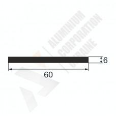 Алюминиевая полоса 60х6 1810 1