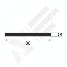 Алюминиевая полоса 80х8 835 1