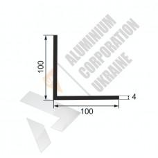 Уголок алюминиевый 100х100х4 - АН 00342 1