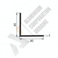 Уголок алюминиевый 80х80х3 - БП 00252 1