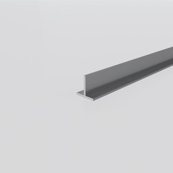 Алюминиевый тавр 10х10х1 10