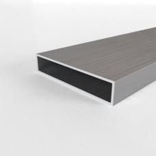 Алюминиевая труба прямоугольная 100х20х2