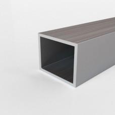 Алюминиевая труба прямоугольная 25х20х1.5