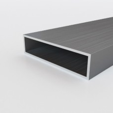 Алюминиевая труба прямоугольная 80х20х2 - АН 00175 1