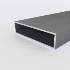Алюминиевая труба прямоугольная 80х20х2