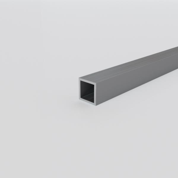 Алюминиевая труба квадратная 10х10х1