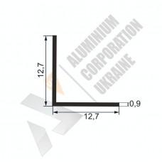 Уголок алюминиевый  <br> 12,7х12,7х0,9 - АН АК-5552-22 1