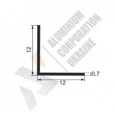 Уголок алюминиевый  <br> 12х12х0,7 - АН SX-WW/X)-16 1