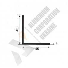 Уголок алюминиевый  <br> 45х45х4 - АН БПО-0133-318 1