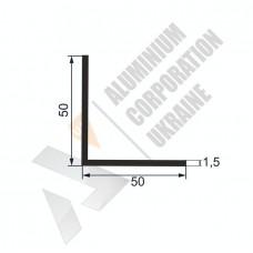 Уголок алюминиевый  <br> 50х50х1,5 - АН АА-1665-325 1