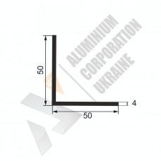 Уголок алюминиевый  <br> 50х50х4 - АН АА-485-335 1