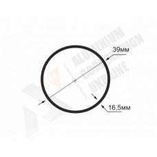 Алюминиевая труба круглая <br> 39х16,5 - АН  АК-1295-443 1