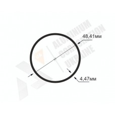 Алюминиевая труба круглая <br> 48,41х4,47 - БП АК-1309-522 1