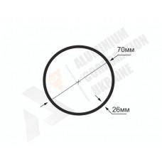 Алюминиевая труба круглая <br> 70х26 - АН  БПЗ-1766-686 1