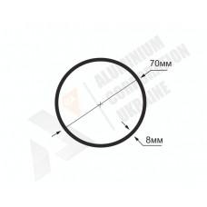 Алюминиевая труба круглая <br> 70х8 - БП 1167-681 1