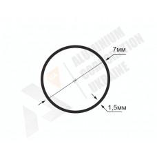 Алюминиевая труба круглая <br> 7х1,5- АН БПЗ-0318-6 1