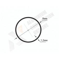 Алюминиевая труба круглая <br> 8х1,2 - АН АК-1234-16 1
