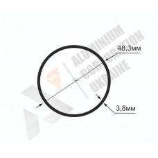 Алюминиевая труба круглая <br> 48,3х3,8 - БП ЗК-122-520 1