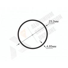 Алюминиевая труба круглая <br> 23,2х4,85 - АН  БПЗ-0438-213 1