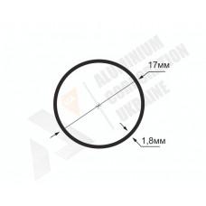 Алюминиевая труба круглая <br> 17х1,8 - БП БПЗ-0834-137 1