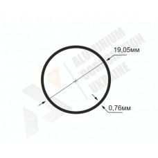 Алюминиевая труба круглая <br> 19,05х0,76 - БП SX-WM3239-165 1