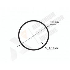 Алюминиевая труба круглая <br> 100х1,15 - АН  АВА-3282-1-778 1
